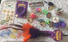 Kitty Bundle Cat Kitten Play Toys Ball Mouse Mixed Pole Lot A 17pc
