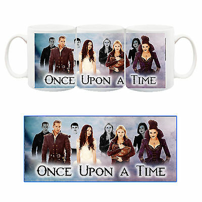 Once Upon A Time C'era Una Volta Regina Tazza Ceramica Mug Cup Serie Tv Telefilm