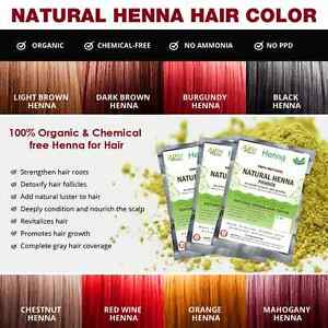 What chemicals are in hair dye?