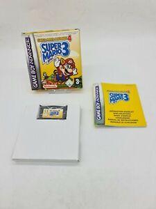 NEW GAME BOY GAMEBOY ADVANCE 4 GBA BOXED BOITE OVP NINTENDO SUPER MARIO BROS 3