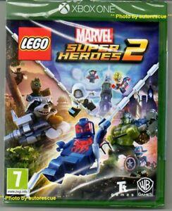 LEGO-MARVEL-SUPER-HEROES-2-034-NUOVO-amp-Sealed-039-XBOX-ONE-1