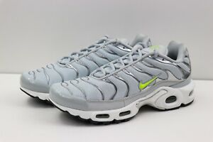 best sneakers 84293 8f8ec Details about Nike Air Max Plus TN SE Tuned CD1533-002 Platinum Volt Dark  Grey Mens Size 7.5