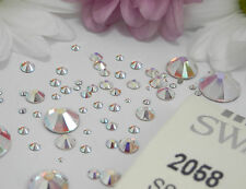 AB Swarovski Flatback Crystals 2088/2058 NON HOTFIX ideal Nail Art BUY5-PAY FOR4