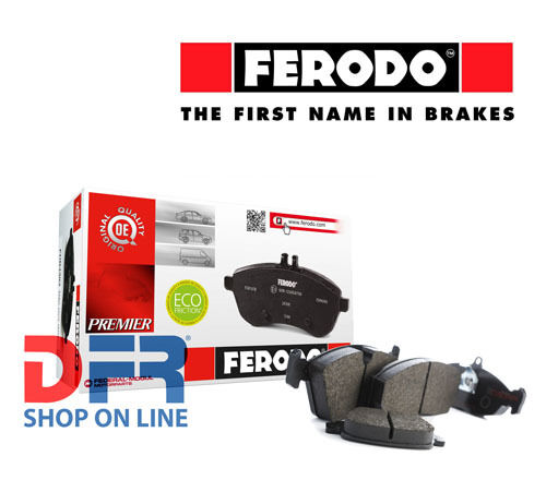188 1.9 JTD FDB1056B FERODO Kit 4 pastiglie pattini freno   FIAT PUNTO