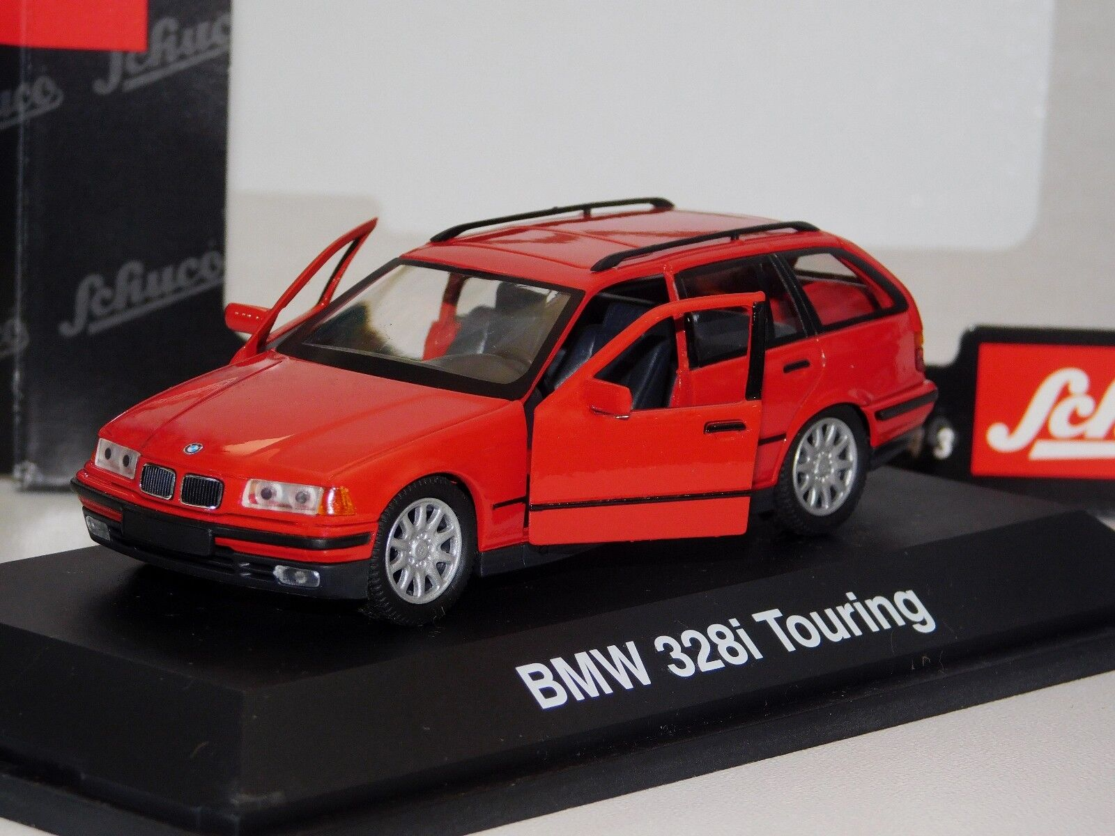 BMW 328i TOURING rosso OPENING FRONT DOORS SCHUCO 4081