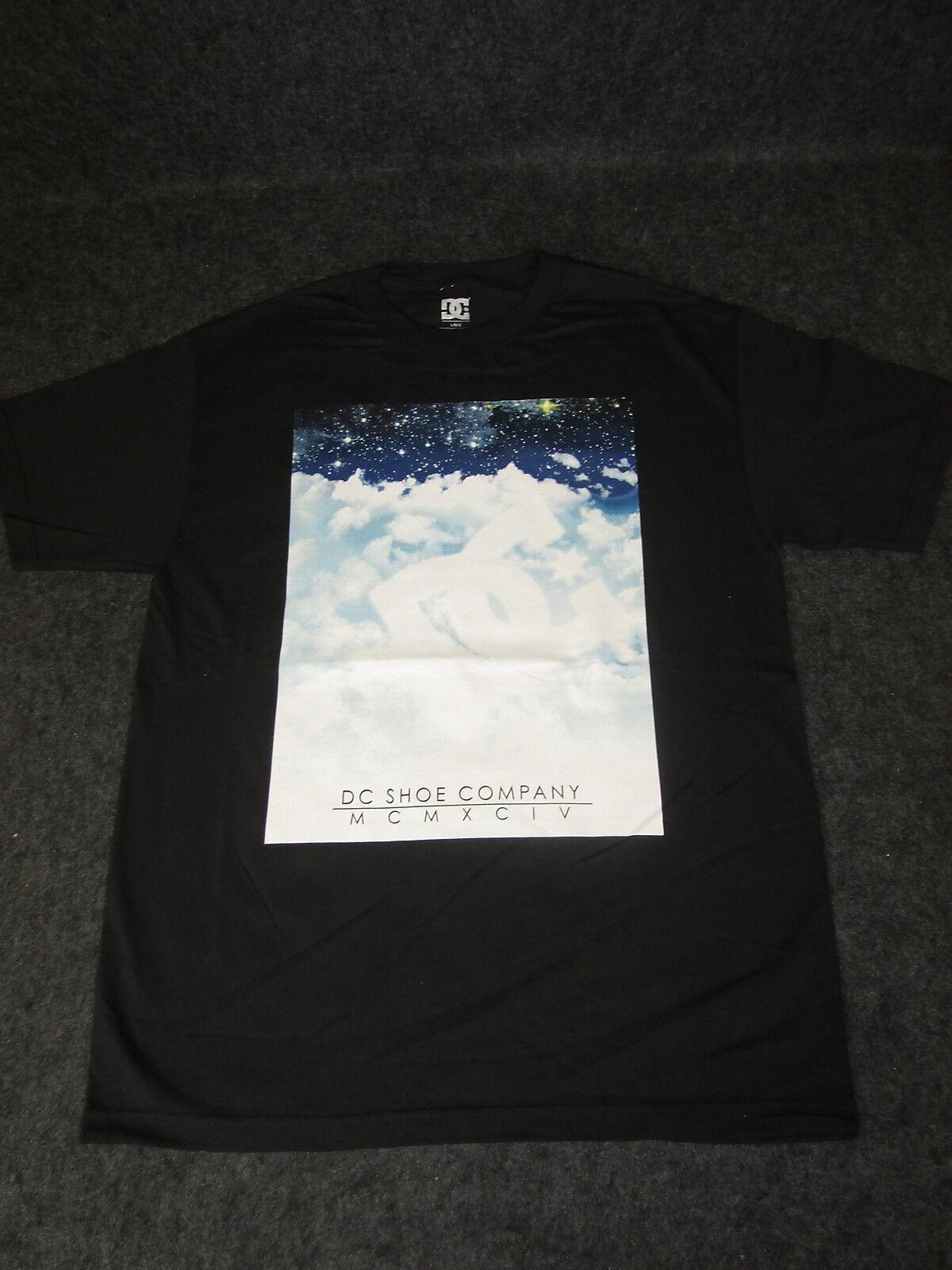 Homme véritable DC Tee la mode décontractée Skate Tee DC T-shirt S M L XL XXL Ciel Noir DC15 9e8f0f