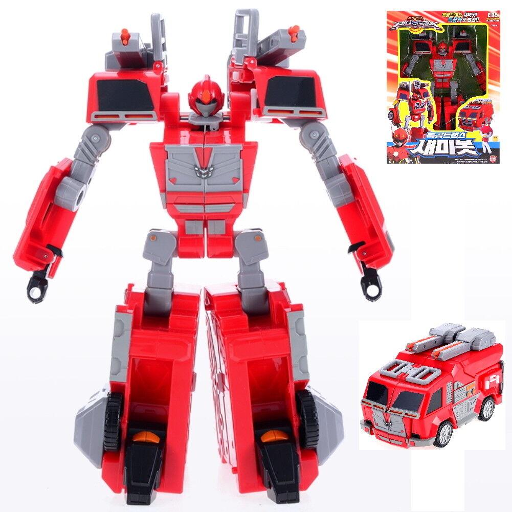 Miniforce Semibot Semi Sammy Bot Transformer Robot voiture Spielzeug Sonokong + Geschenk
