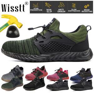 Men-Women-Mesh-Safety-Steel-Toe-Work-Shoes-Indestructible-Boots-Outdoor-Sneakers