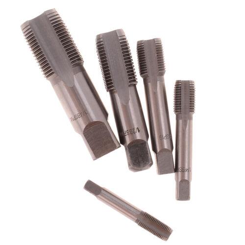 G1//8 1//4 3//8 1//2 3//4 HSS Taper Pipe Tap NPT Metal Screw Thread Cutting Tool