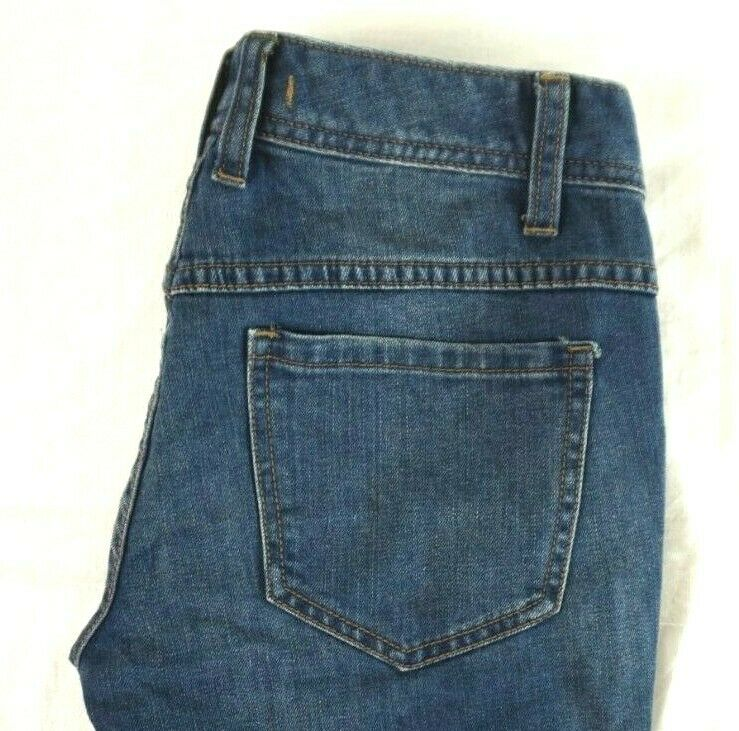 NWT FREE PEOPLE Women's Tupelo bluee Destroyed Low Rise Skinny Jeans 26 x 25