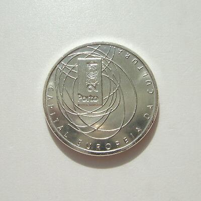 European Culture Capital 2001-500 Esc- Silver lp PORTUGAL Porto