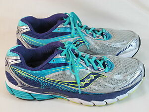 Details about Saucony PowerGrid Ride 8 Running Shoes Women's Size 10.5 US Excellent Plus