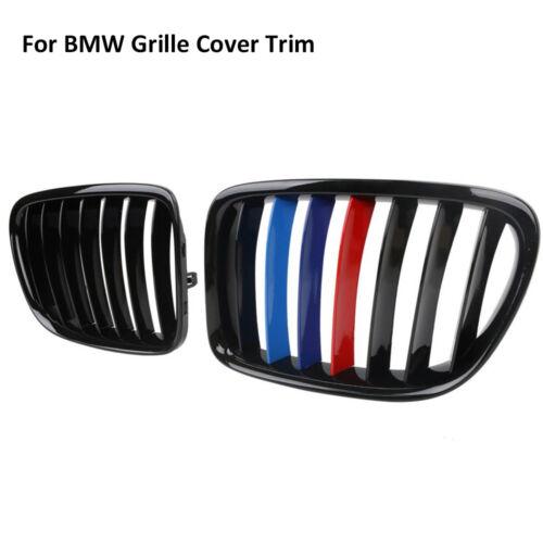 M-Tech  Kühlergrill Grill Abdeckung Streifen Nieren ABS Für BMW X3 X4 F25 F26