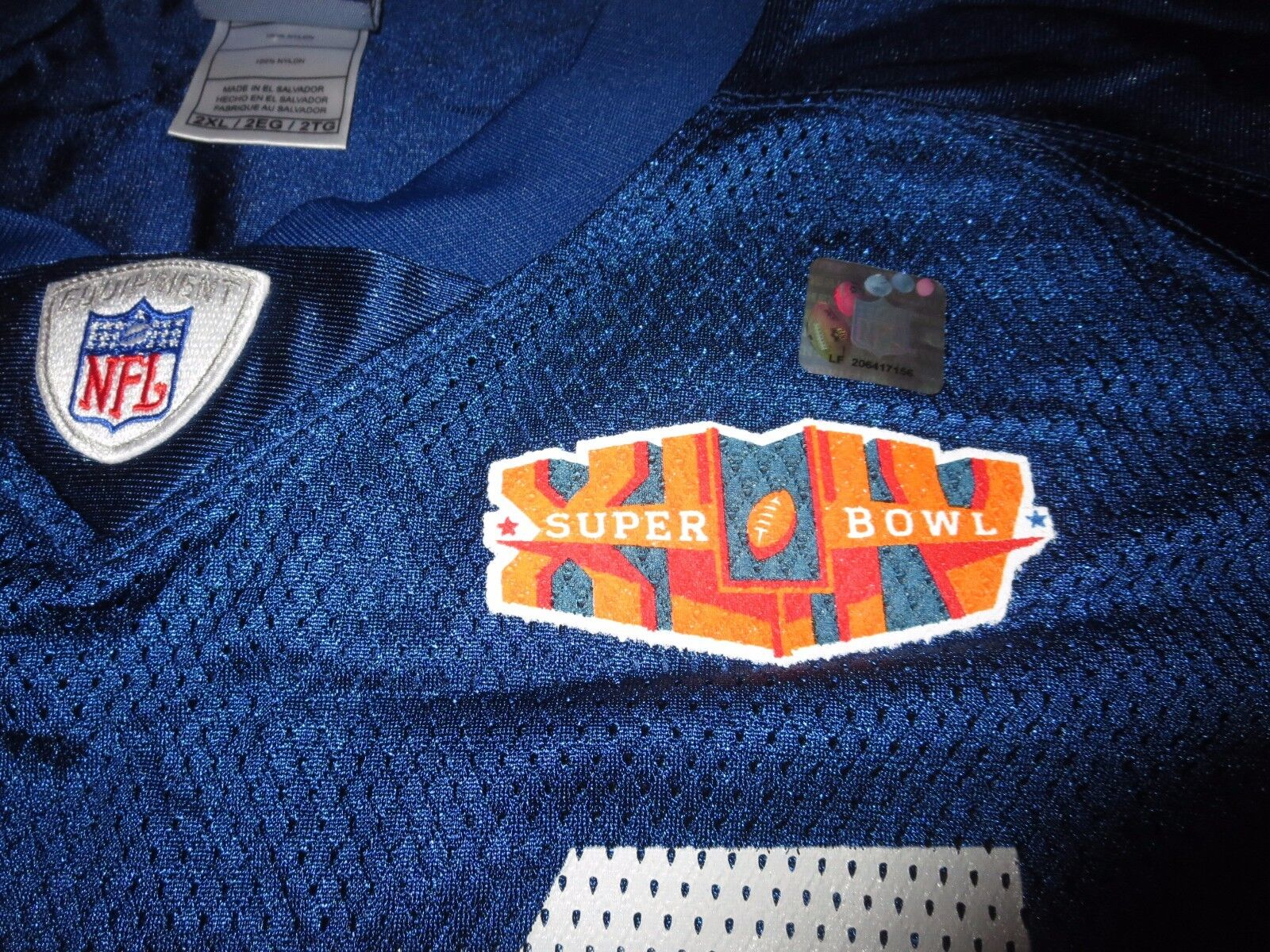 Dallas Clark  44 Indianapolis Colts Super Super Super Bowl NFL Reebok Trikot 2XL 2x Neu  | Starke Hitze- und Abnutzungsbeständigkeit  146cff