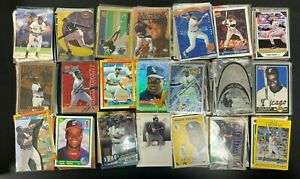1990-2019-Frank-Thomas-LOT-X-20-Cards-Inserts-High-End-RC-039-s-039-d-NO-DUPES