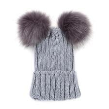 2423be95d15 item 2 Winter Warm Women Girl Knit Beanie Cap Hat Ski Double Pom Bobble  Ball LC -Winter Warm Women Girl Knit Beanie Cap Hat Ski Double Pom Bobble  Ball LC