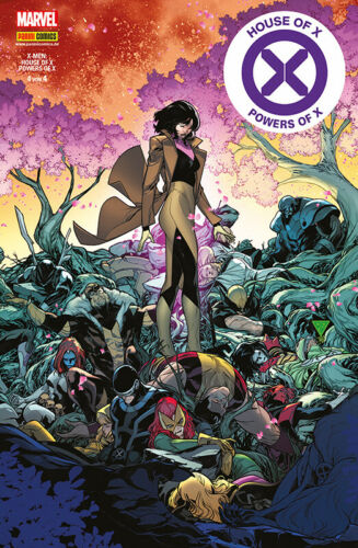 House of X /& Powers of X 4 X-Men SC Marvel Comic von 4
