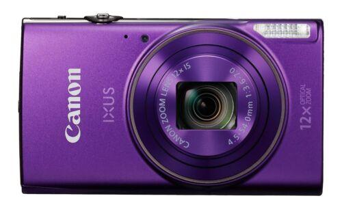 Canon IXUS 285 cámara compacta con pantalla LCD de 3 Pulgadas-Púrpura