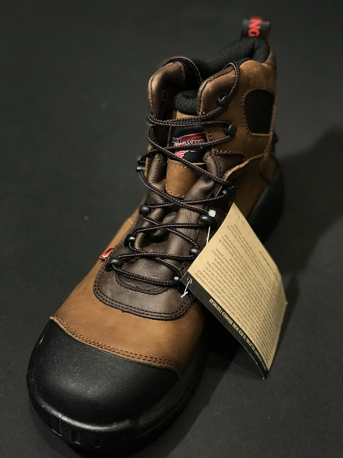 d3444fdc337 New Red Wing 436 Men Electrical Hazard Waterproof Safety Boot 6 Inch Size  11 H