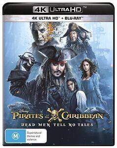 Pirates Of The Caribbean Dead Men Tell No Tales 4k Ultra Hd Ebay