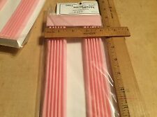 NOS,dollhouse full length curtains w/plain valance,pink