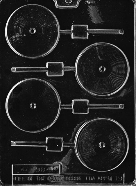 Record Chocolate Candy Mold