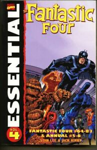 GN-TPB-Essential-Fantastic-Four-Volume-4-1st-edition-2005-540-pgs-Jack-Kirby