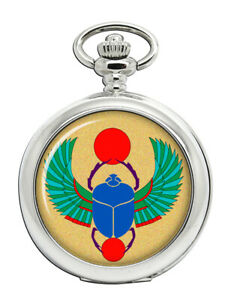Egyptian-Scarab-Beetle-Pocket-Watch