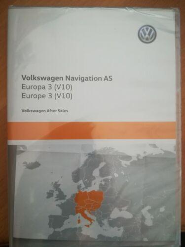 Volkswagen Navigation AS DEUTSCHLAND MITTELEUROPA V10 2020 VW Discover Media 2