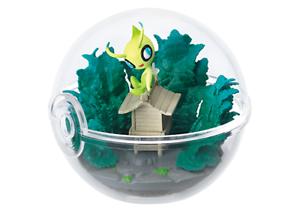 Re-ment-Pokemon-Terrarium-Pokeball-Collection-3-Figure-Celebi-Ship-in-Box
