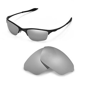 e09c7123ca6 Image is loading New-WL-Polarized-Titanium-Replacement-Lenses-For-Oakley-