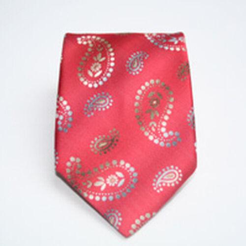 Designer Cravate Avec Motif p1151 NEUF