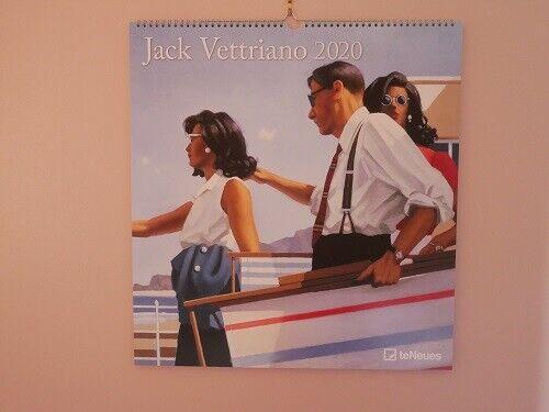 Deluxe Large. Jack Vettriano 2020 Calendar