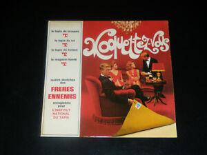 45-tours-EP-LES-FRERES-ENNEMIS-MOQUETTEZ-VOUS-PUBLICITAIRE-1967