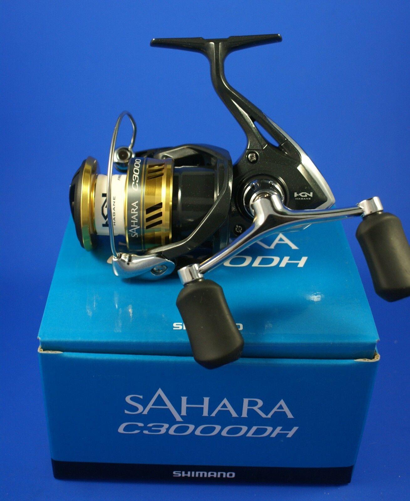 Shimano SAHARA C3000DH FI  SHC 3000 dhfi  mulinello da pesca trascinamento frontale