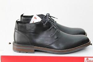 Rieker-Finn-B1340-00-Halbschuhe-Boots-Stiefelette-schwarz-Gr-40-46-NEU