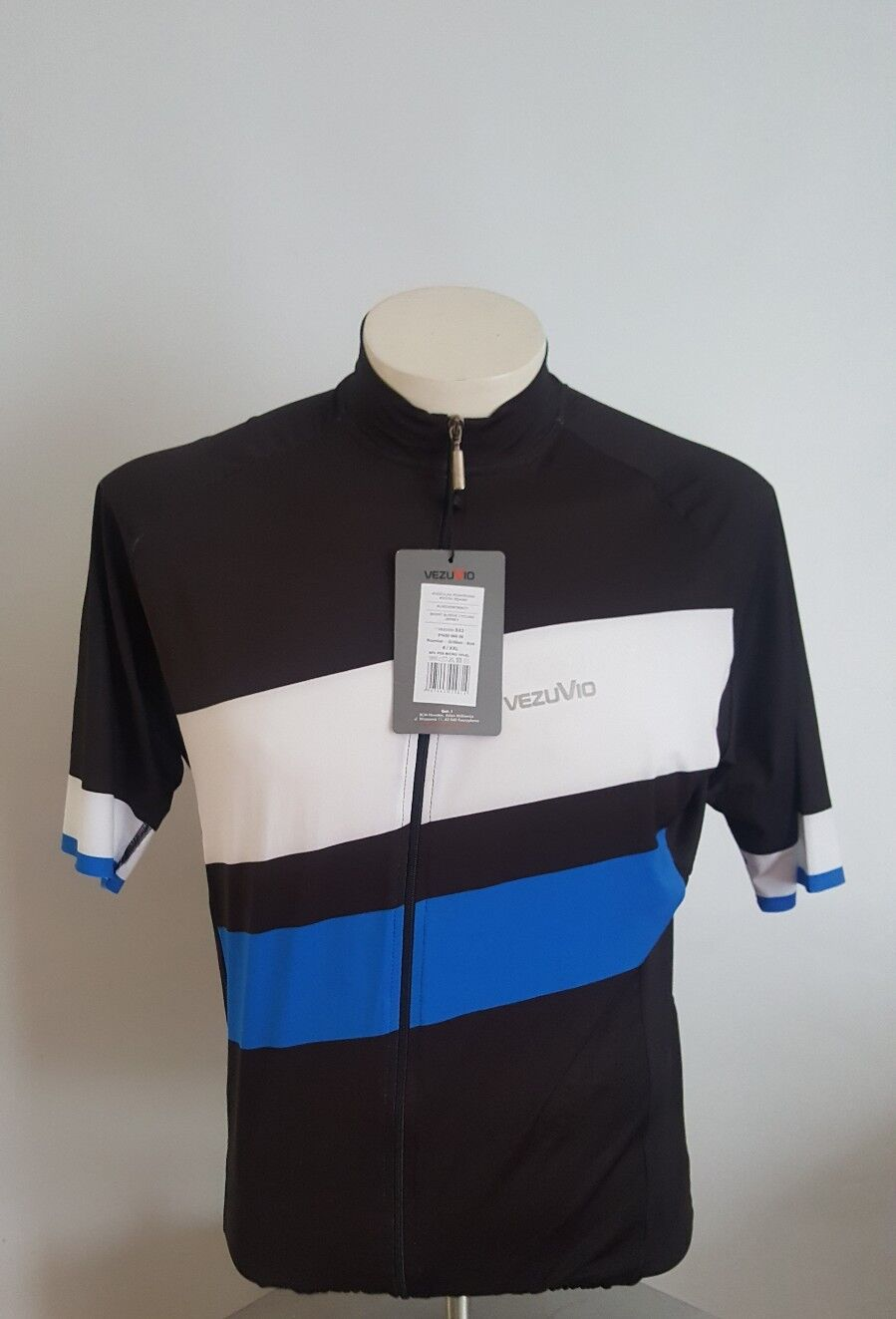 VezuVio Short  Sleeve Cycling Jersey Top Size L XL  factory direct sales