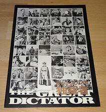 Der große Diktator/The Great Dictator - Charlie Chaplin- Japan Souvenir Program