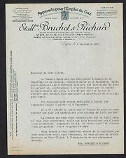 """LYON (69) USINE d'APPAREILS à GAZ """"C. ANDRE / BRACHET & RICHARD Succ"""" en 1937"""