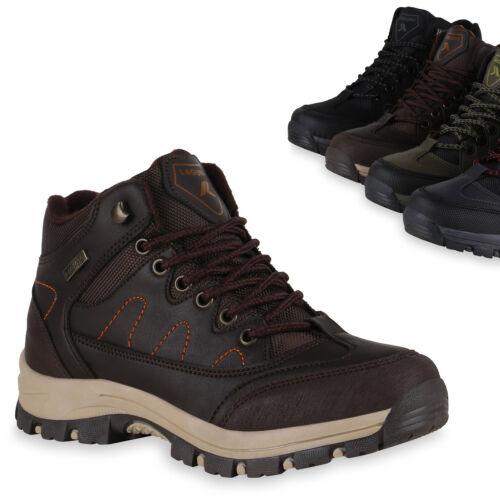 Damen Halbschuhe Outdoor Schuhe Trekking Wanderschuhe Profilsohle 824747 Trendy