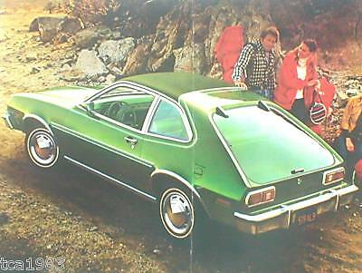 Pony Cruisen Cooperative 1977 Ford Pinto Broschüre / Broschüre: Rennboot Kombiwagen