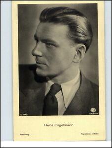 Echtfoto-AK-Kino-Film-Buehne-Theater-Schauspieler-HEINZ-ENGELMAN-Portraet-Foto-AK