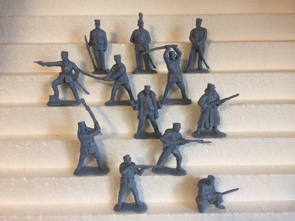 -Basevitj.Japansk armé.Russo-japanska kriget 1904-05.Plast 1 32 leksakssoldater.