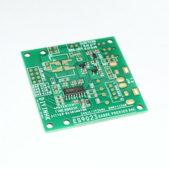 24Bit/192KHz ES9023 DAC with I2S input and Ultra Low Noise Regulator 24192