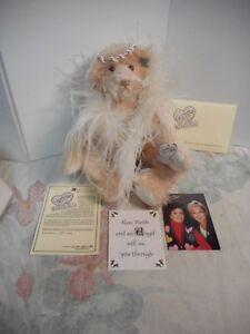 "Bears Dolls & Bears Selfless Annette Funicello Faith 7th Angel Mohair Bear 19"" #273/20,000 Nib Jointed Nib Special Buy"