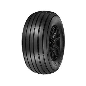 16x6.5-8 Power King Straight Rib Lawn and Garden B/4 Ply BSW Tire