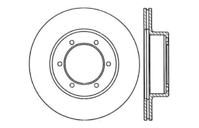 Centric Parts 121.44044 C-Tek Standard Brake Rotor