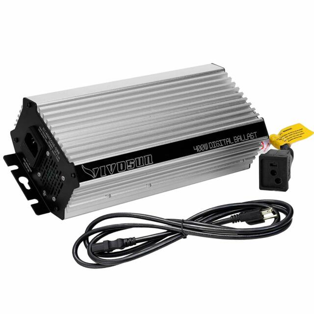 1000W 600W Dimmable Digital Electronic Ballast w// Grow Light HPS MH Bulb
