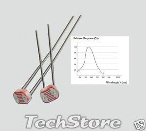 N-10-GL5528-Fotoresistenza-Sensore-di-Luce-5-x-2-mm-10-Kohm-tip-a-10-Lux