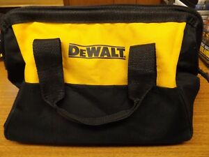 DeWalt-Genuine-OEM-Small-Wide-Mouth-Contractor-Tool-Bag-13-x-9-x-9-034